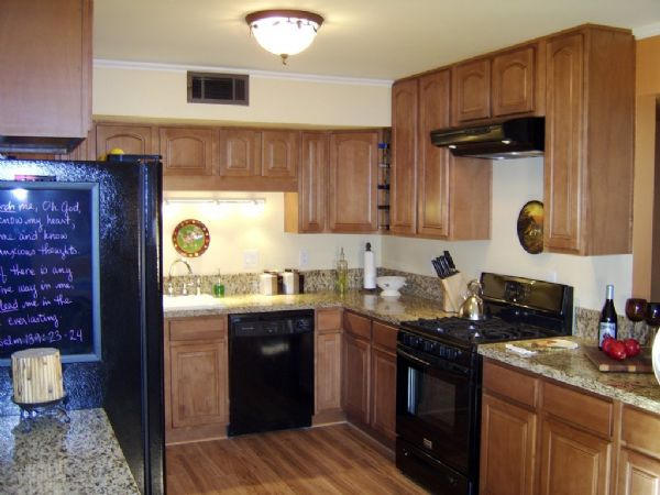 ginger installed with discounted granite countertops