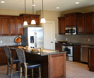 Image Of Kitchen Cabinets In Denver With Granite Countertops